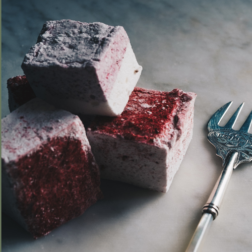 Raspberry Marshmallows by Hepburn & Co.